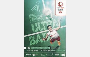 Internationaux de France de Badminton 2019